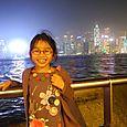 EBLOUISSEMENT DEVANT L'ILE DE HONG KONG